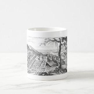 MERIAN: Heidelberg Castle and Royal Gardens 1620 Coffee Mug