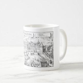 MERIAN: Heidelberg Castle and Royal Gardens ~1645 Coffee Mug