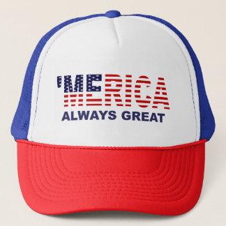 'MERICA ALWAYS GREAT Anti Trump Hat