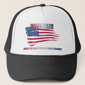 'merica!!! Back to Back, baby!!! Trucker Hat