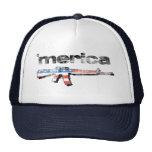 Merica distressed Rifle Hat