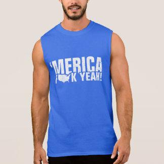'Merica, Fck Yeah! Sleeveless Shirt