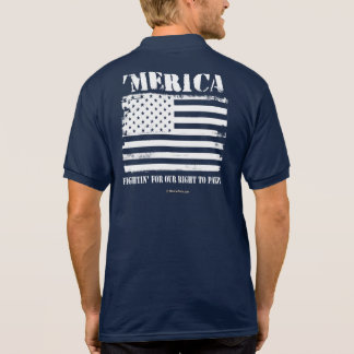 'Merica - Fightin' for our right to party Polo