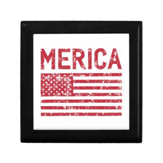 Merica Flag Gift Box