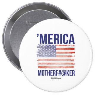 'Merica - Mother F- er 10 Cm Round Badge