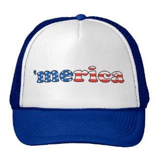 Merica Patriotic Hat
