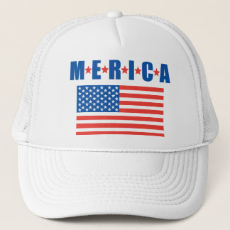 Merica Stars and Stripes hat
