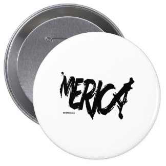 MERICA STATES 10 CM ROUND BADGE