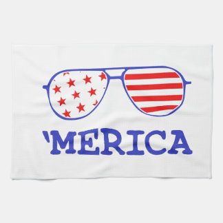'Merica Tea Towel