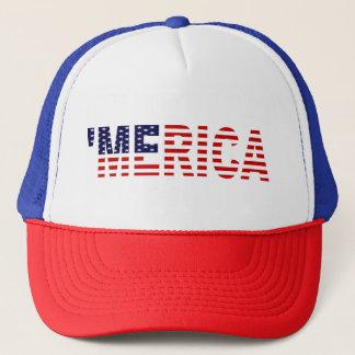 'MERICA U.S. Flag Trucker Hat