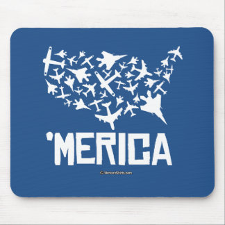 Merica - United States of Combat Mouse Pad