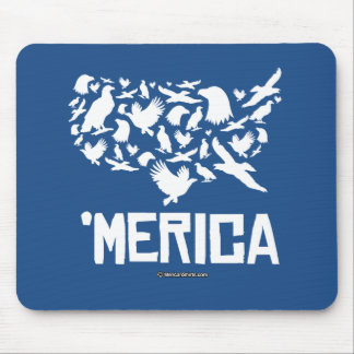 Merica - United States of Freedom Mouse Pad
