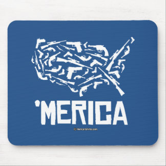 Merica - United States of Guns Mouse Pad