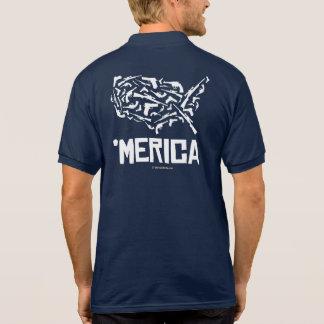 Merica - United States of Guns Polo Shirt