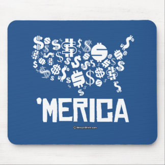 Merica - United States of Money Mouse Pad