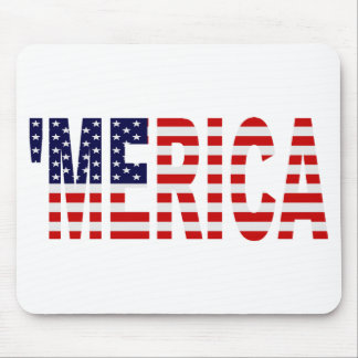 'MERICA US Flag Mousepad
