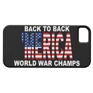 'MERICA US Flag World War Champs  iPhone 5 Case