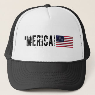 'Merica USA  Flag Hat