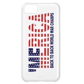 'MERICA World War Champs US Flag iPhone 5 Case