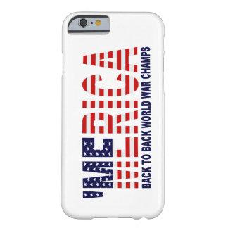 'MERICA World War Champs US Flag iPhone 6 case