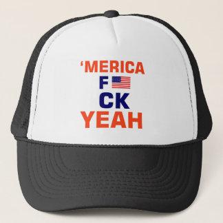 Merica Yeah tshirts Trucker Hat