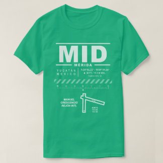 Merida International Airport MID T-Shirt