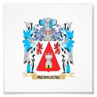 Merigeau Coat of Arms - Family Crest Photo Print