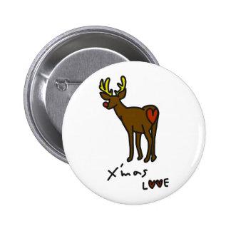 merikuritonakai 6 cm round badge
