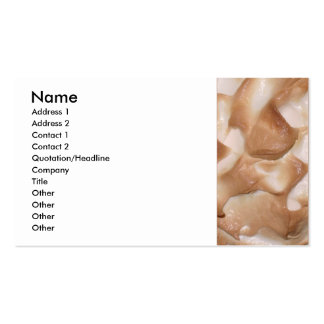 Meringue Pack Of Standard Business Cards