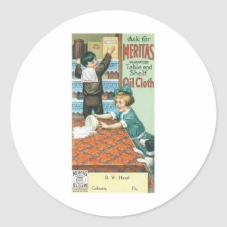 Meritas Table and Shelf Oil Cloth Stickers