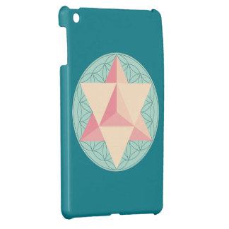 Merkaba on Flower of life Case For The iPad Mini