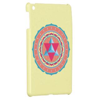 Merkaba on Flower of Life iPad Mini Cover