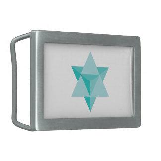 Merkaba Star Tetrahedron Belt Buckles