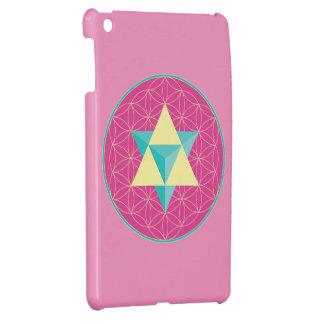 Merkaba with Flower of life iPad Mini Cover