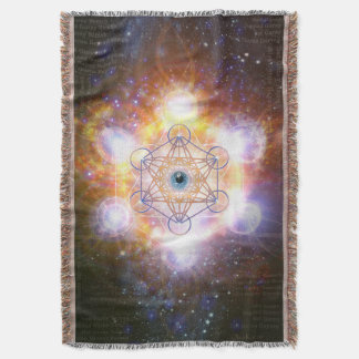 "Merkabah ""Aad Guray Nameh""- Protective Energy Throw Blanket"