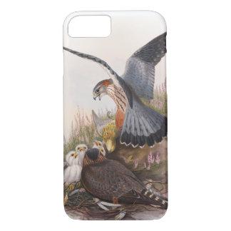 Merlin Falcon John Gould Birds of Great Britain iPhone 7 Case
