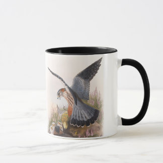 Merlin Falcon John Gould Birds of Great Britain Mug