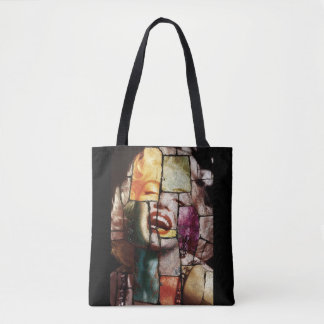 Merlin Monroe Pop Art Tote Bag
