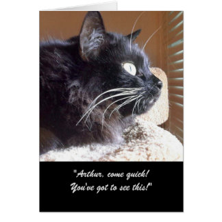 Merlin's View Story Greeting Card