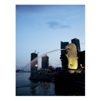 Merlion Postcard