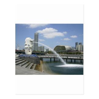 Merlion Postcard