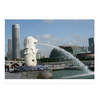 Merlion Singapore Postcard