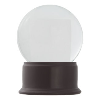 Merlot Onyx Snow Globe