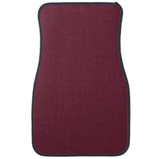 MERLOT (solid dark wine red color) ~ Floor Mat
