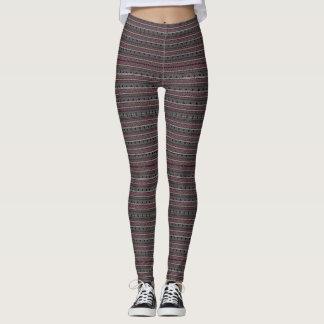(merlot & warm gray) leggings