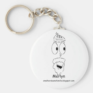 Merlyn - Chaveiro Basic Round Button Key Ring