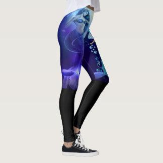 Mermaid Abstract Pattern 2 Leggings
