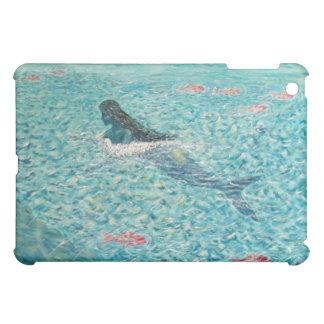 Mermaid against the Tide iPad Mini Covers