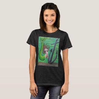 Mermaid and Anchor Ladies' Cut Shirt