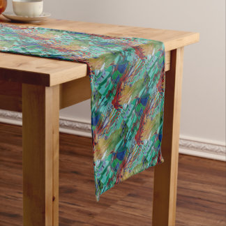 Mermaid and Butterflies Short Table Runner